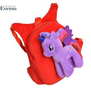 My Little Pony Small Backpack Plush Bag