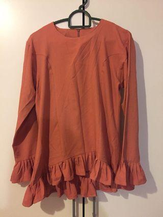 Ruffle Top blouse
