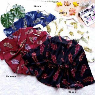 Palm kimono