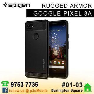 Spigen Rugged Armor for Google Pixel 3a