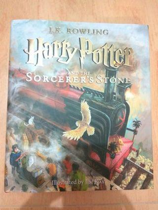 Harry Potter and the Sorcerer's Stone Illustrated version by Jim Kay and J.K. Rowling