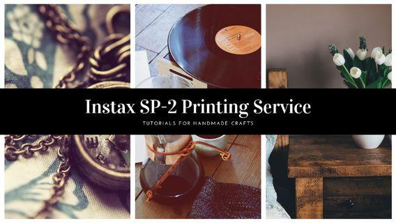 Instax SP-2 Printing Service