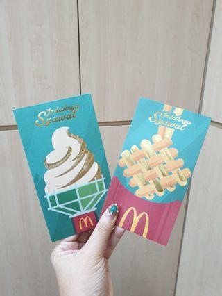 McDonald's sampul duit raya (2018)
