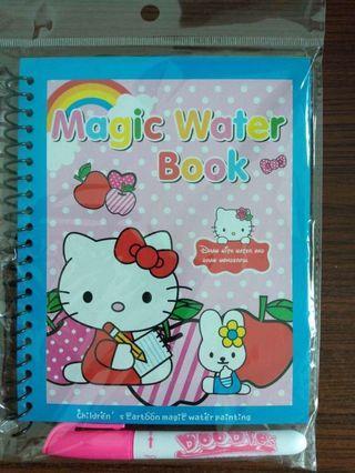 Hello Kitty Magic Water Book