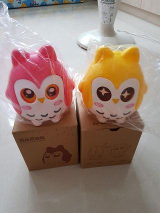 Owl coin bank #goodie bag #children
