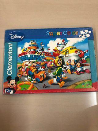 Disney puzzle 2 x 20pcs