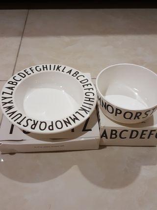 Kids Alphabet Melamine Plate & Bowl [2 for RM25]