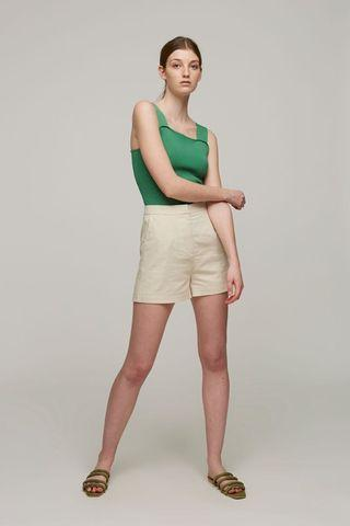🚚 Our Second Nature (OSN) High-Waisted Linen Shorts
