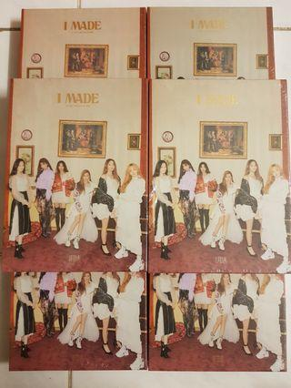 "G-idle 2nd Mini Album ""I MADE"""