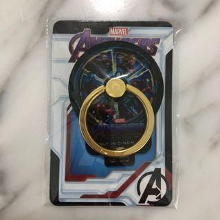 New! Avengers Metallic Phone Ring