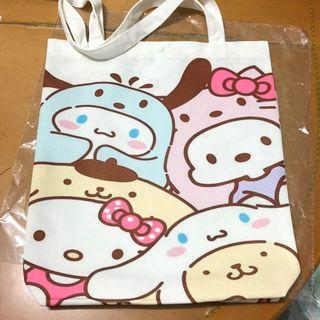 Sanrio Characters 帽子款 ✩單肩布袋
