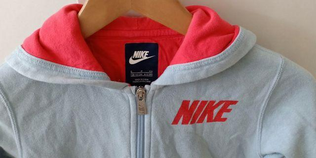 NIKE Zipped Hoodie Jacket Sweater Size 8-10 Years or S