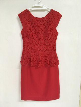 The Executive Red Dress