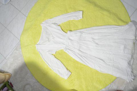 White Dress Panjang