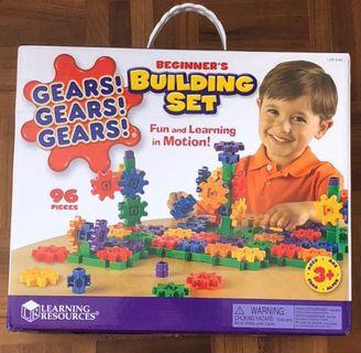 Building with Gears toy. 96 pieces. Used. Gd condition