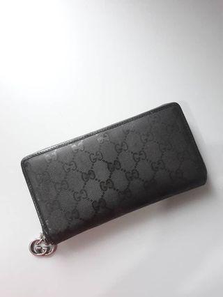 Authentic Gucci  Mono GG Purse