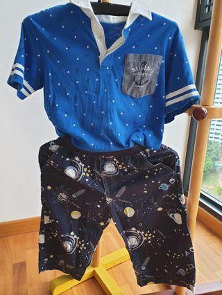 Boy T-shirt & pant