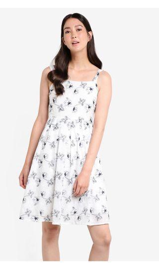 White Broderie Summer Dress