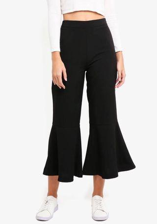Black Kick Flare Pants