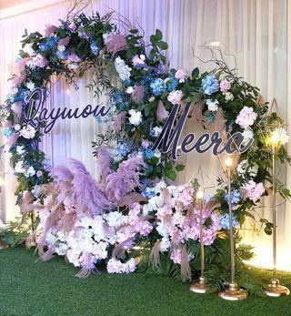 Custom make Wedding backdrop