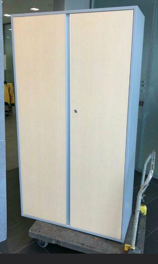 Clearance sale !!!! Wooden cabinet with key for sale @$150  (2 Pcs)