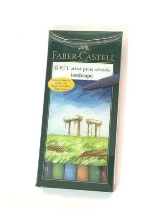 Fabre-Castell 6 Brushes Landscapes