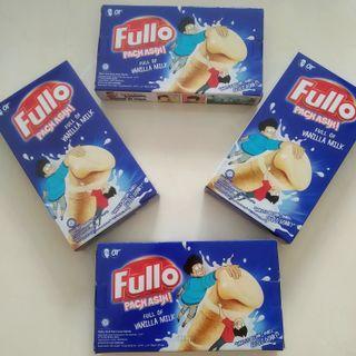 Fullo vanilla snack lebaran box wafer cemilan susu roll