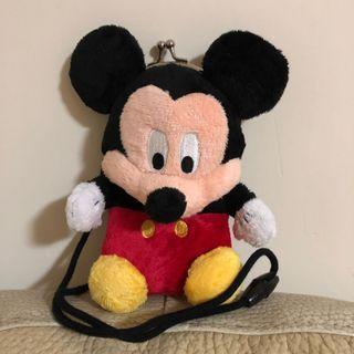 Mickey Mouse 米奇口袋公仔 小手袋 隨身袋