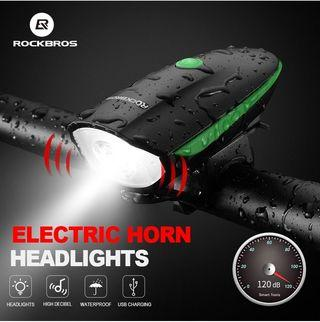 RockBros Bicycle headlight bicycle frontlight front light bicycle  torchlight