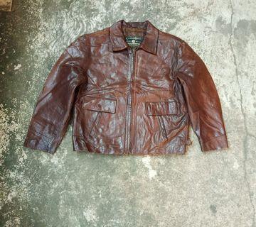 Jaket kulit size XL