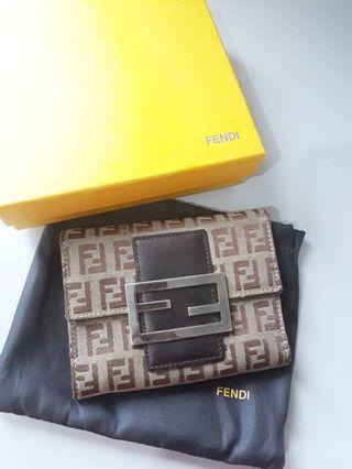 Authentic Fendi Wallet