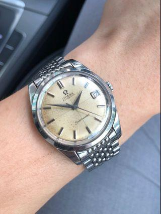 🚚 For Sale! Omega Seamaster Ref 166.010 (Crosshair Patina Dial)