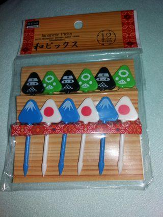 富士山 裝飾 叉