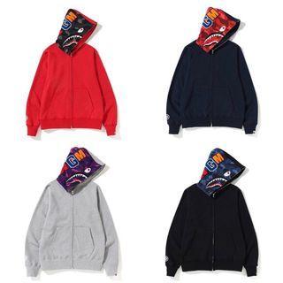 Bape shark full zip hoodie