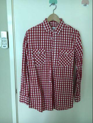 Men's Checkered Long Sleeve