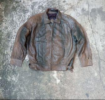 Pierre Cardin jaket kulit