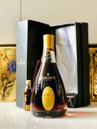 1L XO Alexander Aqva Di Vita Cognac w box