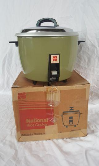 Authentic National Rice Cooker 1.8 Litre Made In Japan (BNIB)
