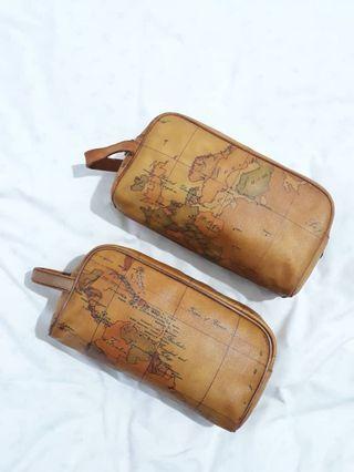 Authentic Alviero Martini Clutch Bag