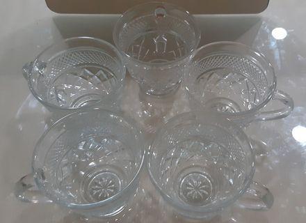 水晶玻璃杯 一組5入