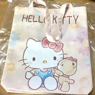 Hello Kitty 花花 ✩單肩布袋