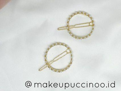 Pearls Round Hairpin