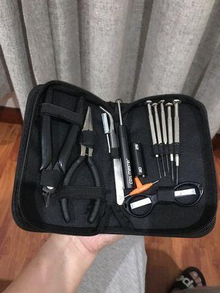 Tool Kit Vape Lengkap Vaporizer
