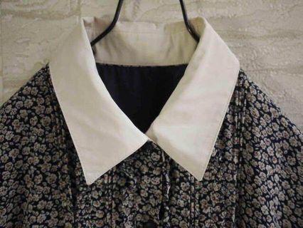 🚚 日製精緻古著洋裝✨藍底小碎花