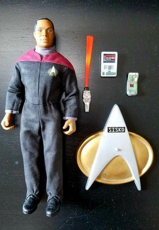 """Star Trek 8"""" Benjamin Sisko星空奇遇公仔"""