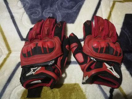 alpinestar riding glove L