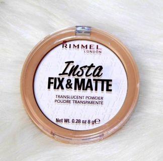 🚚 Rimmel Insta Fix & Matte Powder