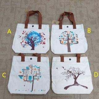 BRAND NEW CANVAS TOTE BAG