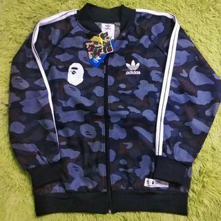 Adidas x Bape Camo Sports Jacket
