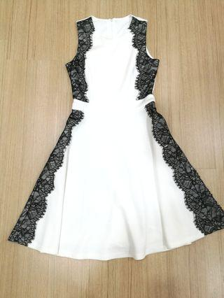 Doublewoot dress - white